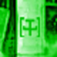 """Symbol der World Army Nuclear Forces auf einer """"nordkoreanischen"""" Trägerrakete"""